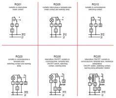 Схема підключення CEWAL RQ