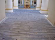Тепла підлога Нексанс в церкві