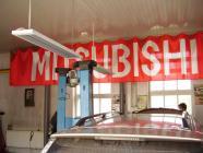 Опалення боксу в автомайстерні Mitsubishi