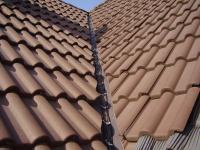 Кабельний обігрів даху